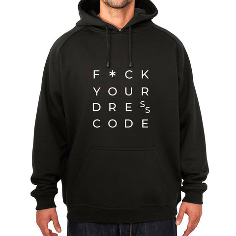 Мужская толстовка с капюшоном Dress Code купить