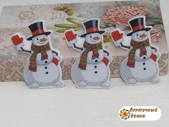 Планер Снеговик в рукавицах  (матовый)