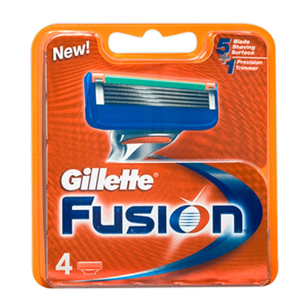 Сменные лезвия Gillette Fusion 4 шт