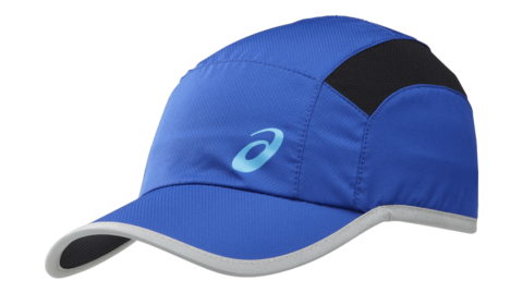 Бейсболка Asics Running Cap blue унисекс