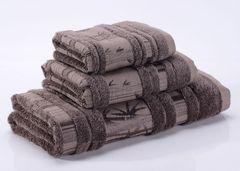 Bamboo CL-3  коричневое бамбуковое махровое  полотенце Valtery