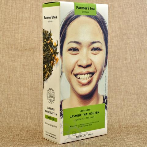 Чай зеленый с жасмином Sense Asia, 100г