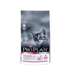 Purina Pro Plan Junior Delicate для котят с чувствительным пищеварением индейка