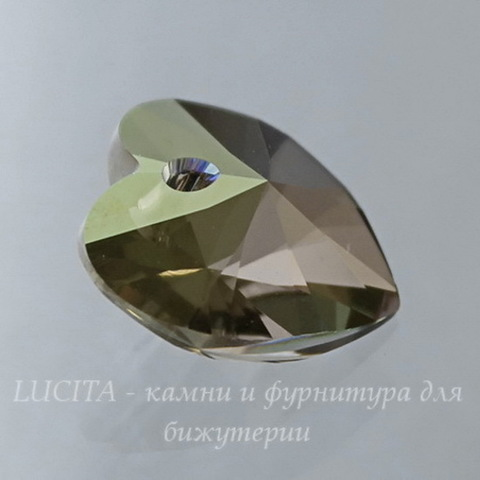 6228 Подвеска Сваровски Сердечко Crystal Iridescent Green (14,4х14 мм) (large_import_files_15_15532ae6e73011e38f66001e676f3543_41560744efb54dda9f05ebd0732f435a)
