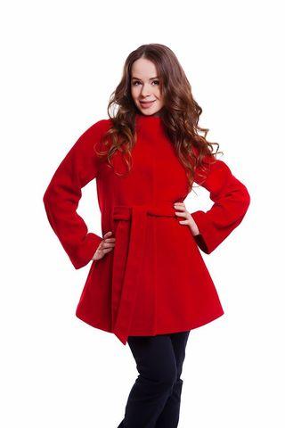 Пальто 05218 красный