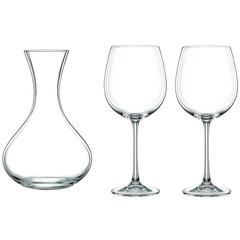 Набор декантер и 2 фужера для красного вина Nachtmann Vivendi Premium