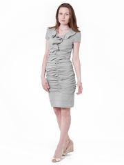M125 платье серое