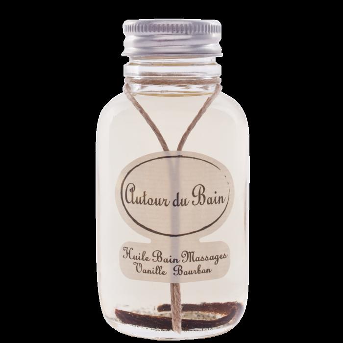 Масло для массажа и ванны  Bourbon Vanilla/Ванильный Бурбон  125 мл (Гели и масла для ванны и душа) (Autour Du Bain)