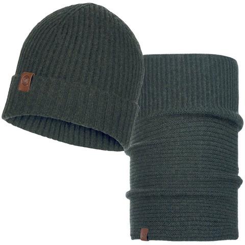 Комплект шапка-шарф Buff Biorn Military