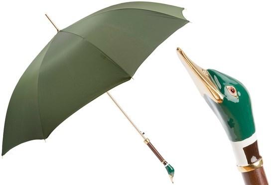 Зонт-трость Pasotti Mallard Umbrella, Италия (арт.479 Oxf-10 K26).