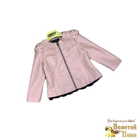 Куртка экокожа девочке (3-11) 200126-ST412