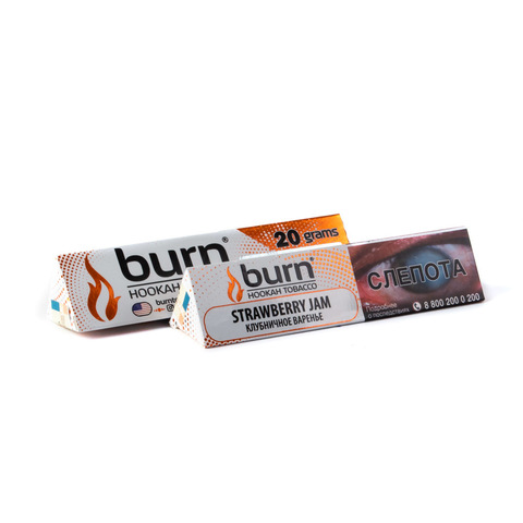 Табак Burn Strawberry Jam (Стравбэри Джем) 20 г