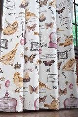 Готовая штора Coche (Птички)