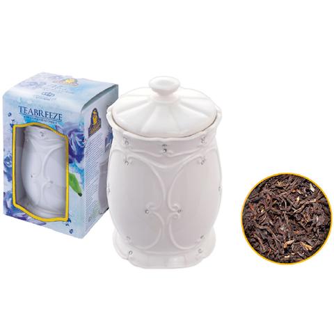 Подарочный набор. Керамическая чайница. Европейская коллекция (чай