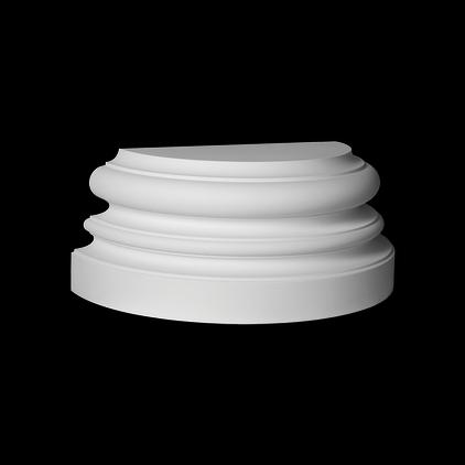 База (полуколонна) Европласт из полиуретана 4.17.201, интернет магазин Волео
