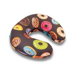 подушка для путешествий «пончик» c ортопедическим эффектом memory-foam