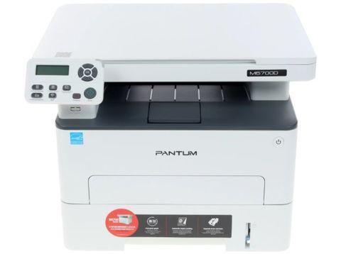 МФУ Pantum M6700D - лазерное, монохромное, А4, копир/принтер/сканер, 30 стр/мин, 1200 X 1200 dpi, 256Мб RAM, лоток 250 стр, PCL/PS, USB, дуплекс, черный корпус