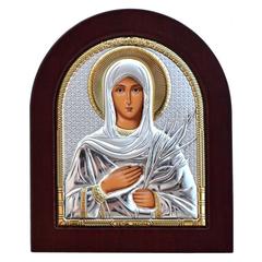 Татиана Римская Святая мученица. Икона в серебряном окладе.