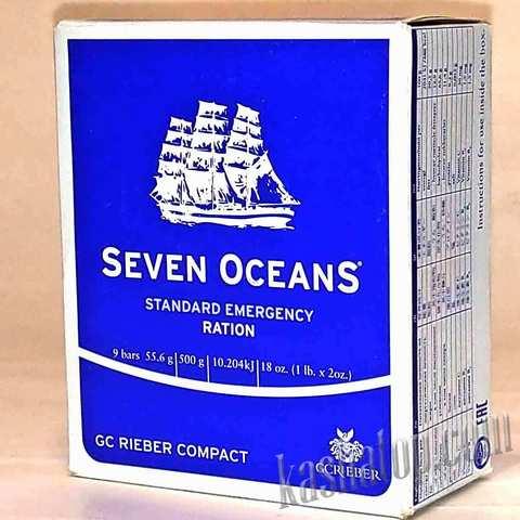 Аварийный рацион питания Seven OceanS, Норвегия