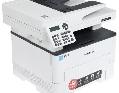 МФУ Pantum M6800FDW - лазерное, монохромное, А4, копир/принтер/сканер, 30 стр/мин, 1200 X 1200 dpi, 256Мб RAM, лоток 250 стр, PCL/PS, USB, дуплекс, черный корпус, с автоподатчиком