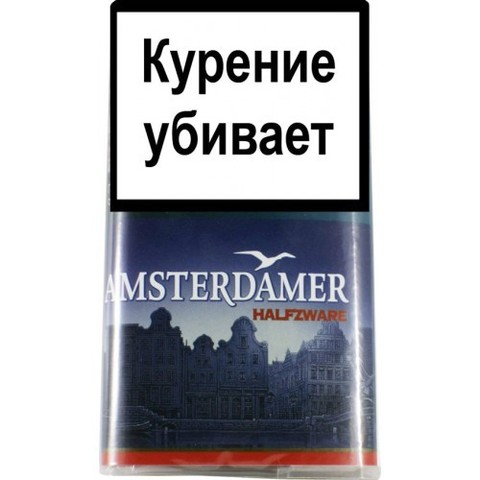 Табак AMSTERDAMER HALFZWARE (40гр)