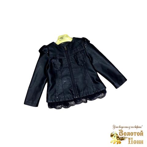 Куртка экокожа девочке (3-11) 200126-ST413