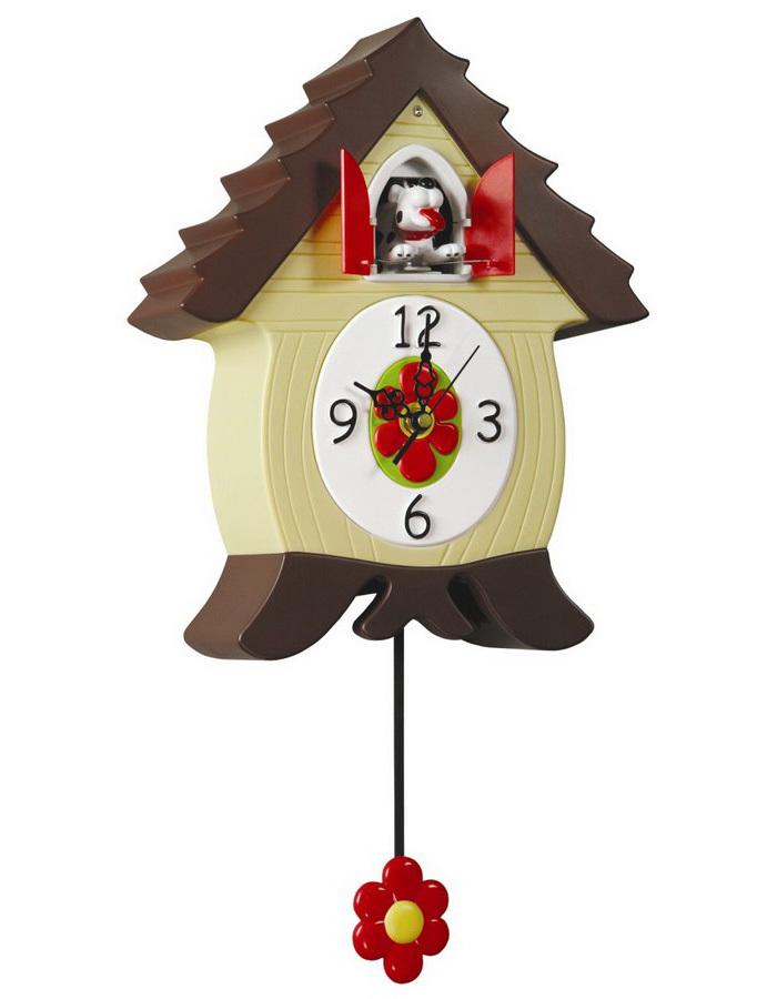 Часы настенные с кукушкой Lowell 50035
