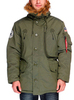 Куртка Аляска зимняя - Polar Jacket (зеленая - d.Green)