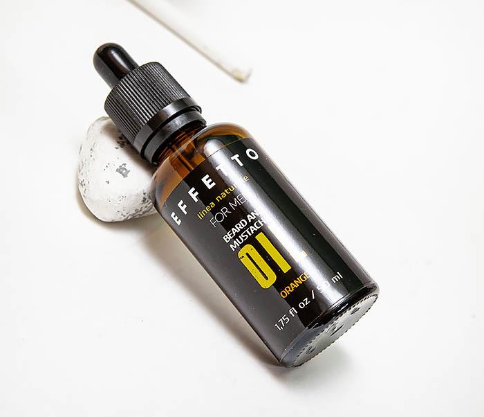 CARE138-2 Масло для роста бороды и усов EFFETTO «Апельсин» (50 мл) фото 03