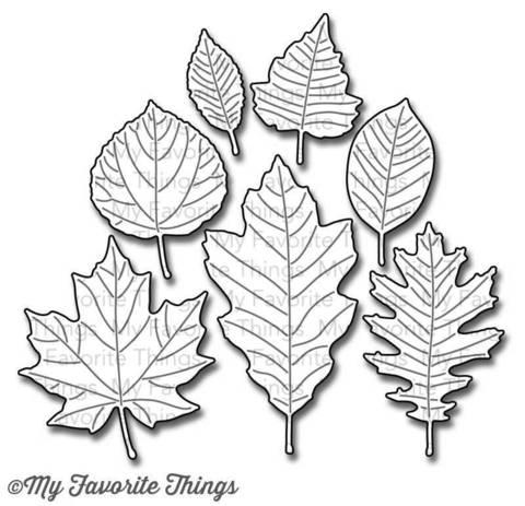 "Нож для вырубки ""Falling Leaves"""