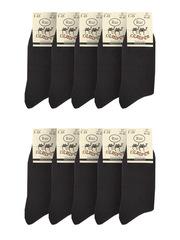 Г15 носки мужские,черные (10шт)