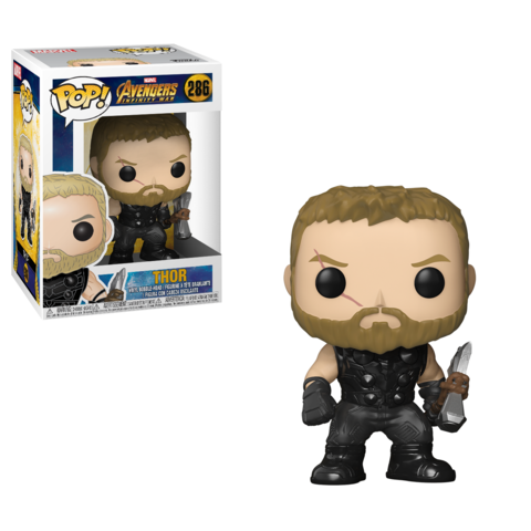 Фигурка Funko POP! Bobble: Marvel: Avengers Infinity War: Thor 26464