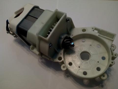 Двигатель эл. переменного тока DDE CSE2418 в сборе (8440-430205-0000020), шт
