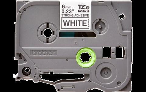 Наклейка ламинированная повышенной адгезии TZ-ES211 (6 мм черн/бел)