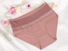 8286-1 трусы женские тем. розовые (4 шт)