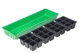 Мини-парник пластиковый 4 секции