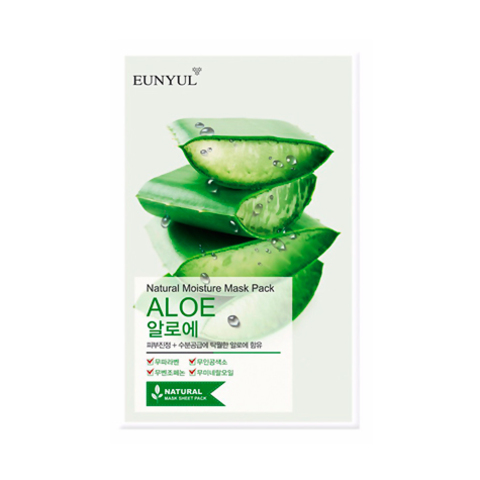 Eunyul Маска с алоэ Natural Moisture Mask Pack Aloe 5шт