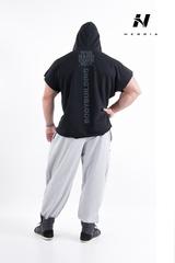 Мужская безрукавка Nebbia HardCore Regtop Hoodie 311 black