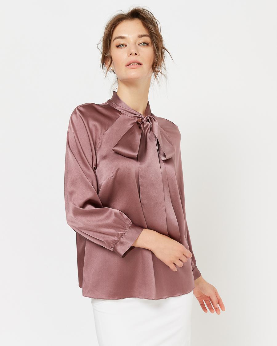 Блузы из натурального шелка оптом