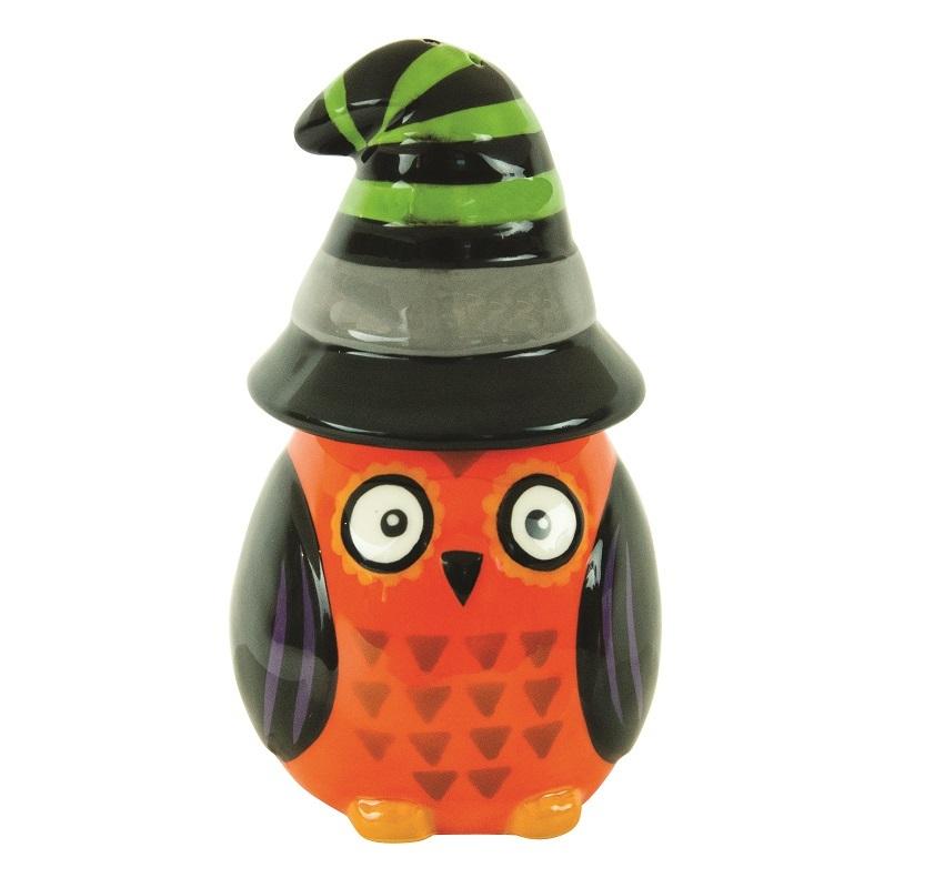 Хранение продуктов Набор солонка и перечница Boston Warehouse All Owl's Eve Witch 97328B.jpg