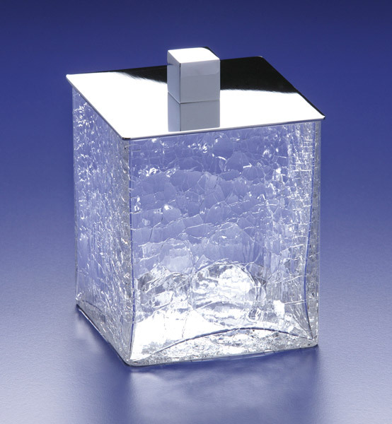 Баночки для косметики Емкость для косметики Windisch Box Craquele хром большая emkost-dlya-kosmetiki-windisch-box-craquele-hrom-bolshaya-ispaniya.jpg