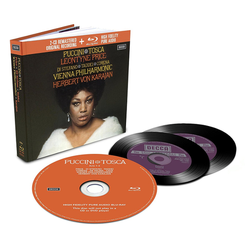 Leontyne Price, Vienna Philharmonic, Herbert von Karajan / Puccini: Tosca (2CD+Blu-ray Audio)