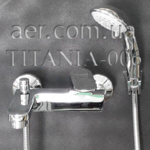 Смеситель для ванной TITANIA 006