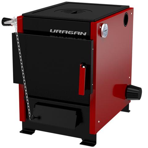 Котел твердотопливный Термокрафт Uragan-10