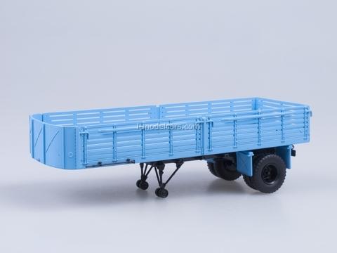 Semitrailer MAZ-5215 blue AutoHistory 1:43