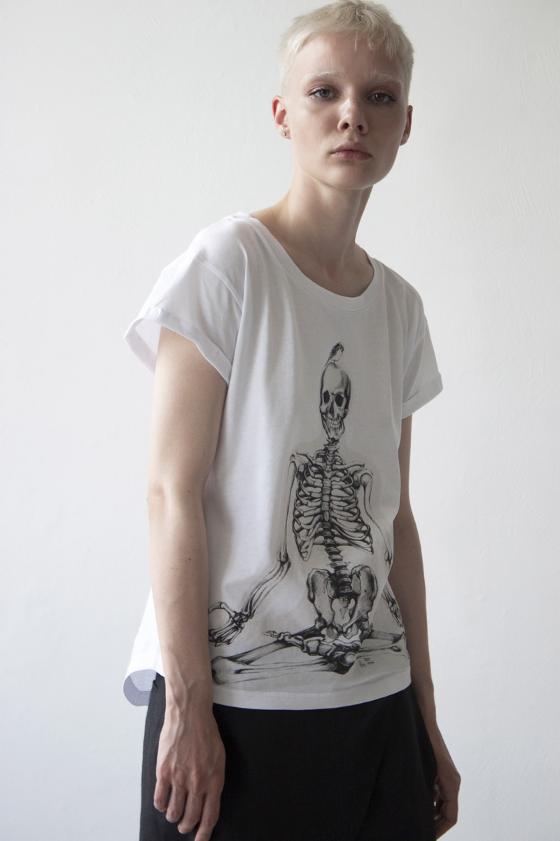 Женская футболка «Йог»