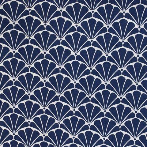 Хлопковая ткань Рапсодия уличная коллекция синий