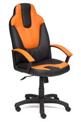 Кресло Нео (NEO) (2) — черный/оранжевый (36-6/14-43)