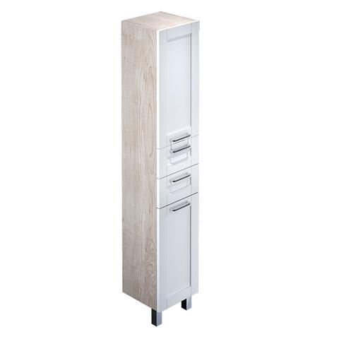 Пенал для ванной комнаты, напольный, белый/дерево, 36 см, Sena, IDDIS, SEN3600i97