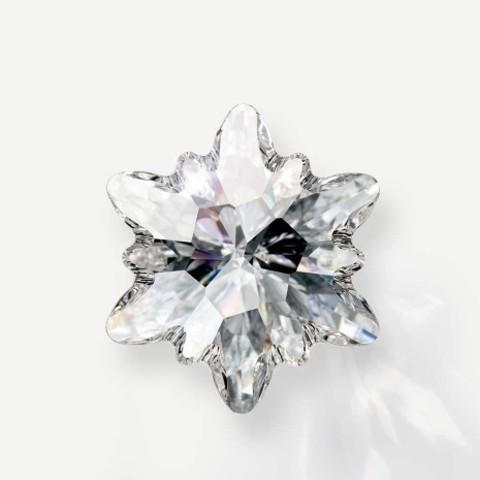 6748 Подвеска Сваровски Эдельвейс Crystal (14 мм) (SWP_B2B_Home_Edelweiss_465x465_2x)